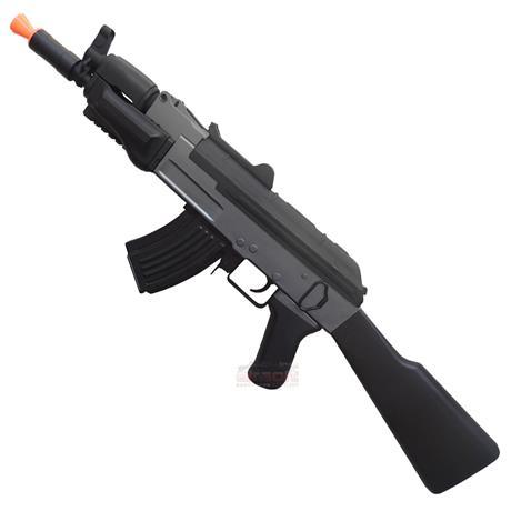 Rifle Airsoft Kalashnikov AK Spetsnaz Eletrico (Cyma) + Bandoleira - Cal 6mm