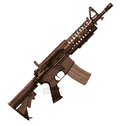 Rifle Airsoft M4A1 Short Heavy Ris - Premium (Eletrico) (Full Metal) (Cano de Precisao) - Cal 6mm (A