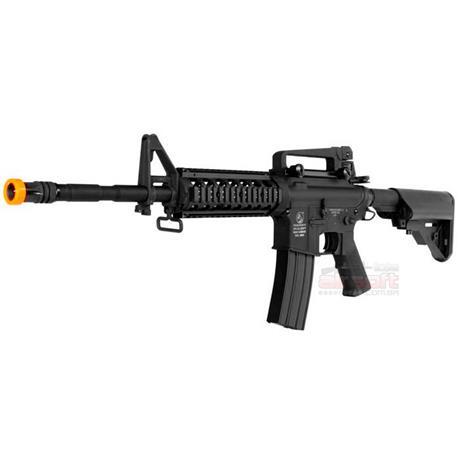 Rifle Airsoft Colt M4A1 RIS Eletrico (Full Metal) + Magazine Extra - Cal 6mm (CyberGun)