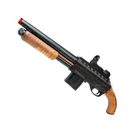 Shotgun Airsoft  M500 SAWED + (Falso Red Dot) - Cal 6mm - Mossberg