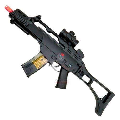 Rifle Airsoft Eletrico Umarex G36C + Acessórios