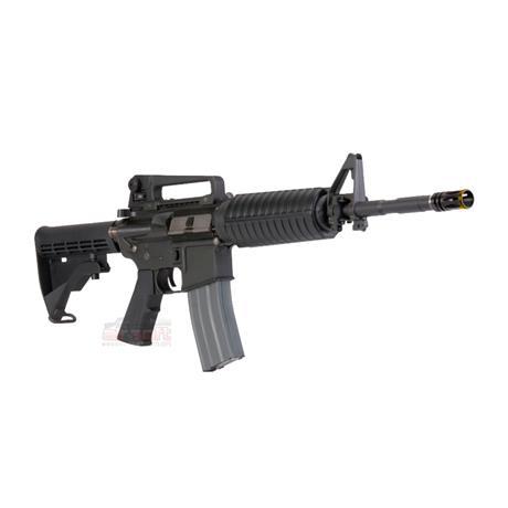 Rifle Airsoft M4A1 (Premium) (Eletrico) (Full Metal) (Cano de Precisao) - Cal 6mm (Ares)