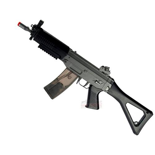 Rifle Airsoft Sig Sauer 552 Ris (Full Metal) (Blow Back) - Cal 6mm (CyberGun)