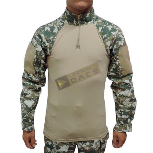 Combat Shirt Hrt - Digital Cerrado (M)-Dacs