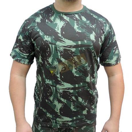 Camiseta Camuflada Manga Curta Eb (M) - Dacs