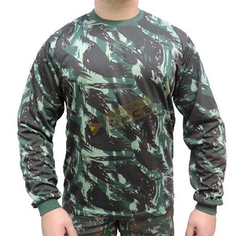 Camiseta Camuflada Manga Longa Eb (Exg) - Dacs