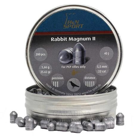 Chumbinho H&N Rabbit Magnum II - 5.5mm (200un)
