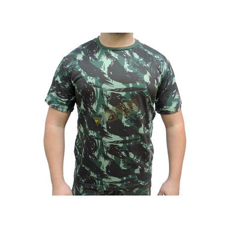 Camiseta Camuflada Manga Curta Eb (GG) - Dacs