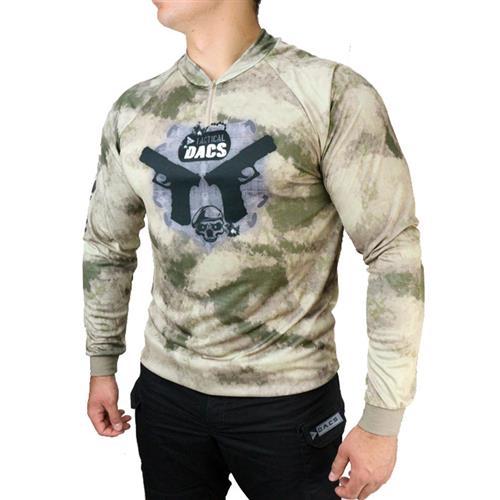 Camisa Sublimada Double Pistol  Dry Fit com Proteção Solar - (G) Dacs
