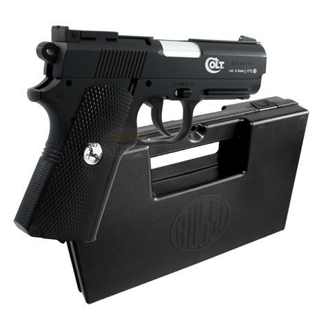 Pistola CO2 COLT Defender 4.5 Semi-Automática + Case Rossi