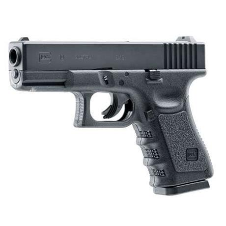 Pistola CO2 Glock 19 4.5 Slide Metal - Umarex