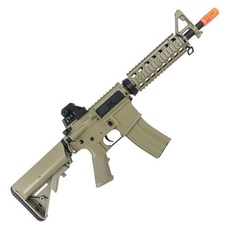 Rifle Airsoft AEG M4A1 CQB RIS CM506 Tan Cyma